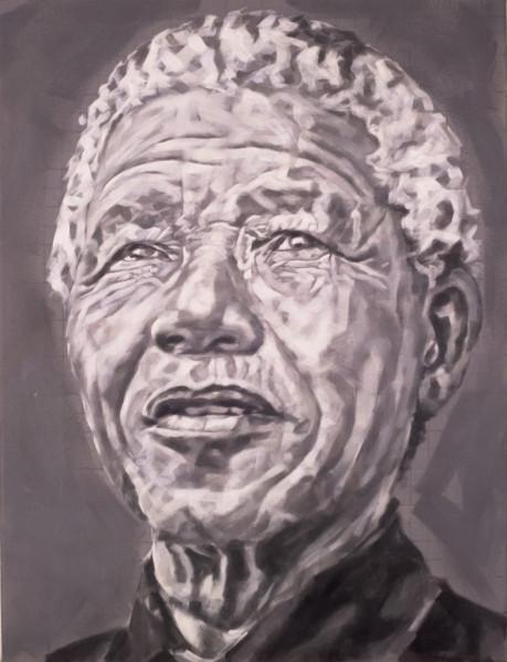 """Nelson Mandela"", 50x40 cm"