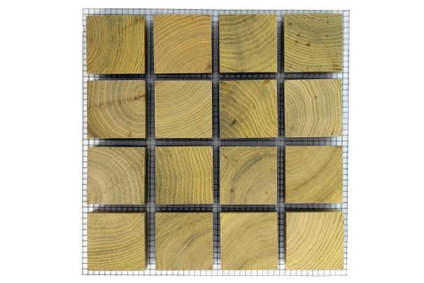 ROMEX® Holzblockpflaster Quadrat