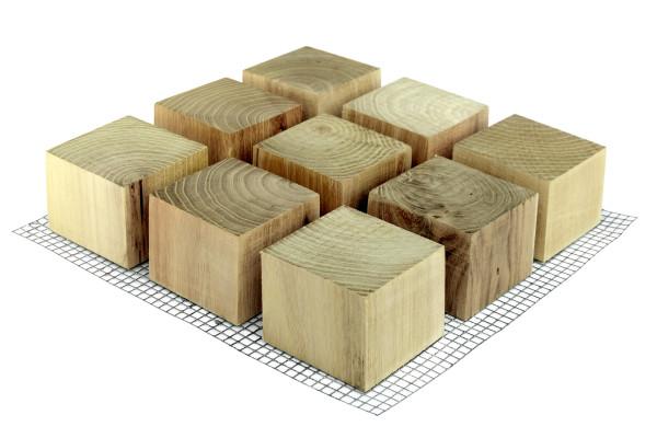 ROMEX® Holzblockpflaster Drän